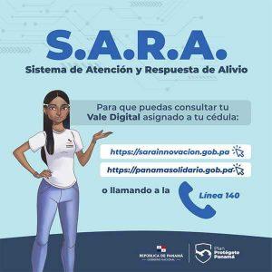 Sistema SARA del vale digital-Vamos Panamá